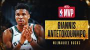 Sezonun MVP'si Antetokounmpo