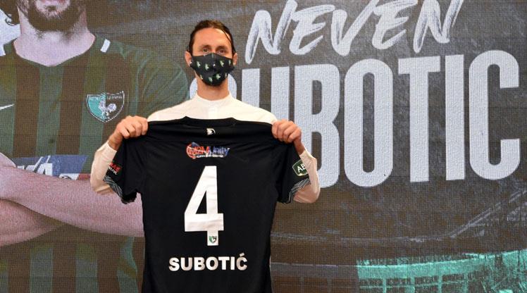 Subotic, Denizlispor'a imzayı attı