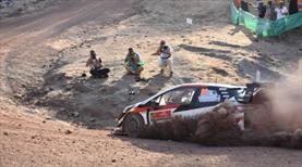 WRC heyecanı Datça'ya taşındı