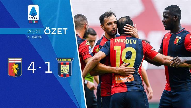 ÖZET | Genoa 4-1 Crotone