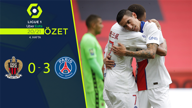 ÖZET | Nice 0-3 PSG