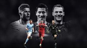 UEFA'da yılın futbolcusu adayları belli oldu
