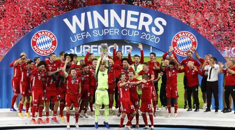 ÖZET   Süper Kupa Bayern Münih'in