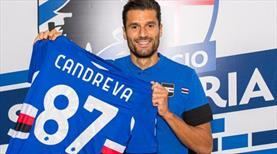 Sampdoria, Candreva'yı kiraladı