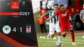 ÖZET | İH Konyaspor 4-1 Beşiktaş