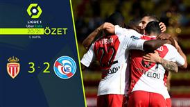 ÖZET | Monaco 3-2 Strasbourg