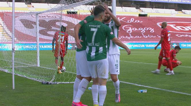 VİDEO   Kravets'ten enfes gol vuruşu
