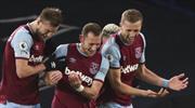 Everton'ın serisini West Ham bitirdi