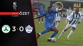 ÖZET | Giresunspor 3-0 Tuzlaspor