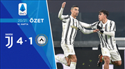 ÖZET | Juventus 4-1 Udinese