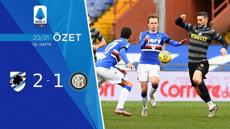 ÖZET | Sampdoria 2-1 Inter