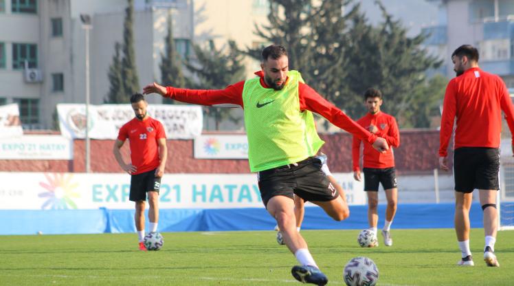 Hatayspor, Beşiktaş mesaisine başladı
