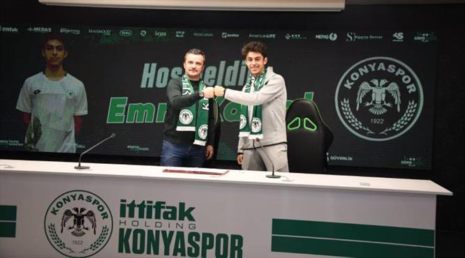 İsmail Kartal'ın oğlu Konyaspor'da