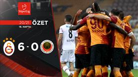 ÖZET | Galatasaray 6-0 Gençlerbirliği