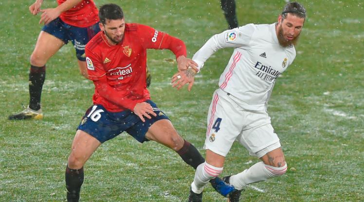 Real Madrid, Osasuna deplasmanında takıldı