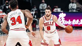 Zach LaVine'in 45 sayısı Bulls'a yetmedi