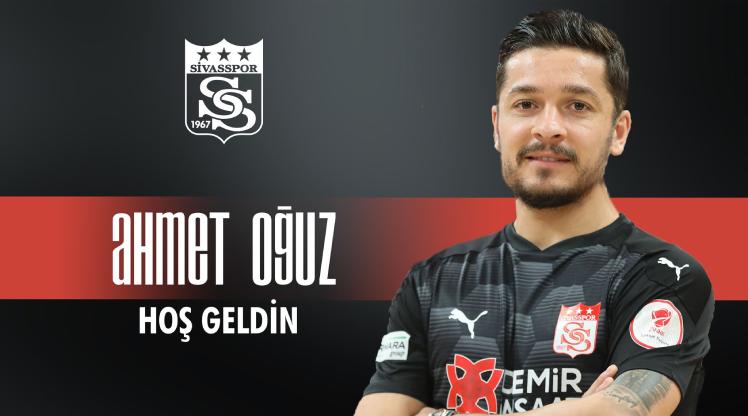 DG Sivasspor, Ahmet Oğuz'u renklerine bağladı