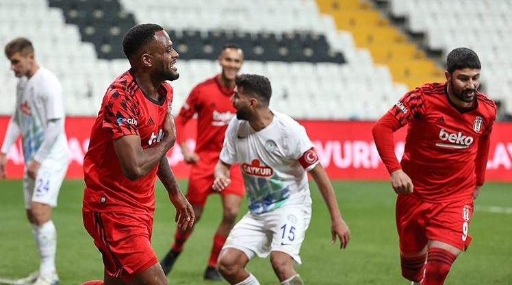 Beşiktaş'a çeyrek final bileti Larin'den