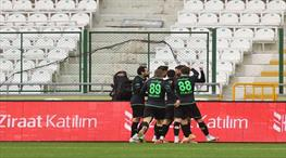İH Konyaspor kupada çeyrek finalde