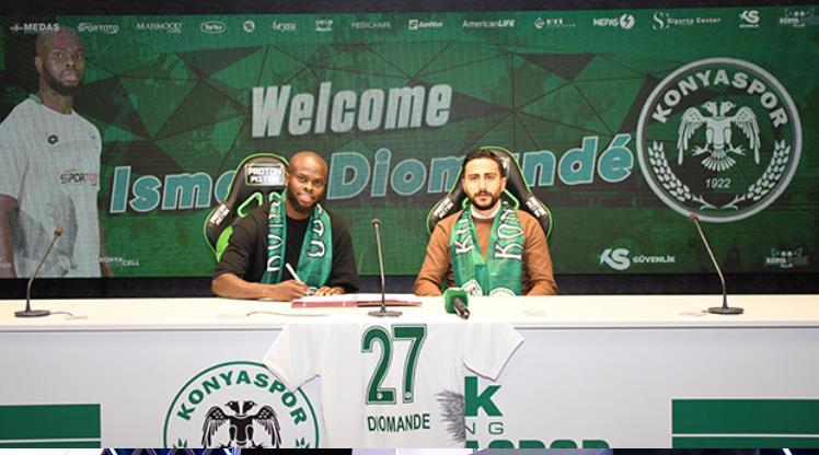 Ismael Diomande İH Konyaspor'da