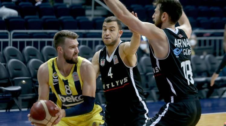 Derbide son gülen Beşiktaş