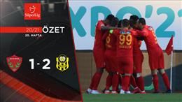 ÖZET   A. Hatayspor 1-2 Y. Malatyaspor