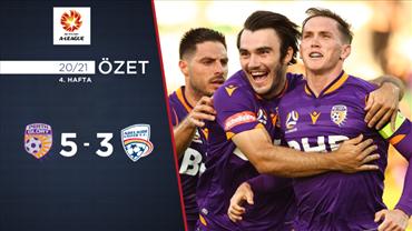 ÖZET   Perth Glory 5-3 Adelaide United