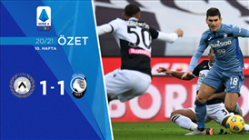 ÖZET   Udinese 1-1 Atalanta