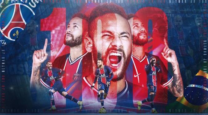 PSG'den Neymar için özel klip