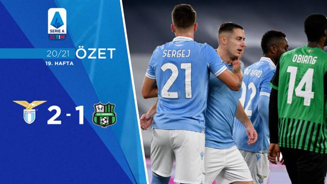 ÖZET | Lazio 2-1 Sassuolo