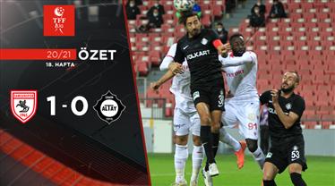 ÖZET | Yılport Samsunspor 1 - 0 Altay