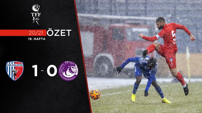ÖZET   Ankaraspor 1-0 A. Keçiörengücü