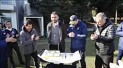 Fenerbahçe'de Selçuk Şahin'in doğum günü kutlandı