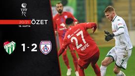 ÖZET | Bursaspor 1-2 Altınordu