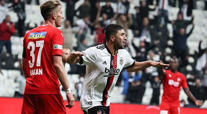 Beşiktaş - DG Sivasspor maçının golleri burada