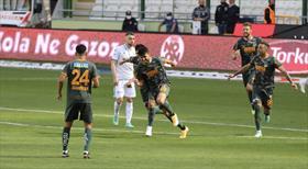 İH Konyaspor - A. Alanyaspor maçının golleri burada!