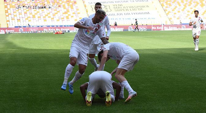 İşte Atakaş Hatayspor'a galibiyeti getiren goller