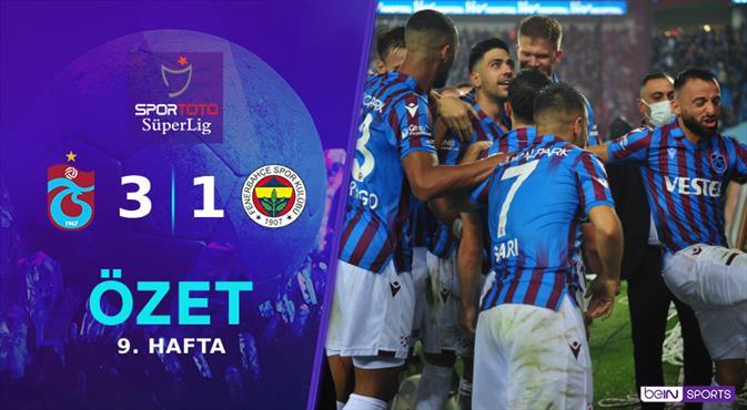 ÖZET | Trabzonspor 3-1 Fenerbahçe