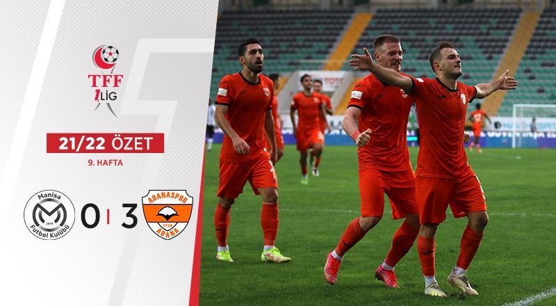 ÖZET | Manisa FK 0-3 Adanaspor