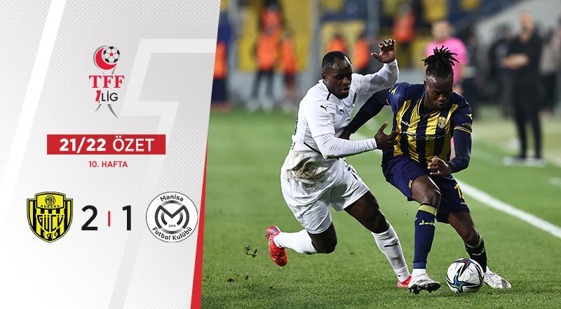 ÖZET | MKE Ankaragücü 2-1 Manisa FK