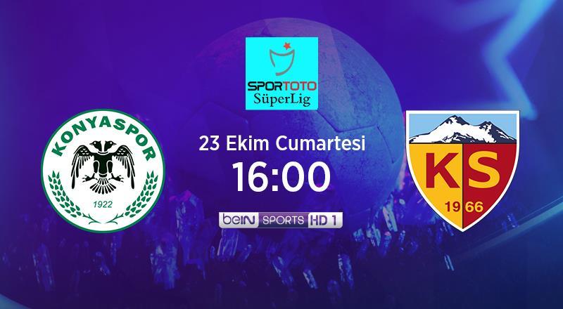 CANLI | İH Konyaspor - Y. Kayserispor