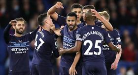 Manchester City deplasmanda rahat kazandı