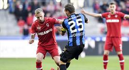 Antwerp, Club Brugge'a diş geçiremedi