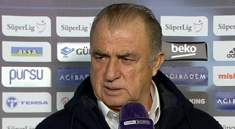 Fatih Terim'den oyuncularına penaltı tepkisi