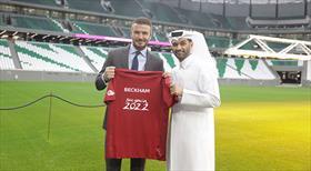 Katar 2022'nin reklam yüzü Beckham olacak!