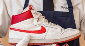 Michael Jordan'ın ayakkabısına rekor bedel