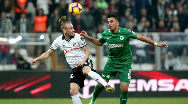 Beşiktaş ile Konyaspor 40. maça çıkıyor