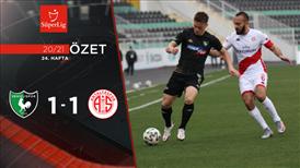 ÖZET | Y. Denizlispor 1-1 FTA Antalyaspor