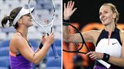 Andreescu ve Kvitova'dan erken veda