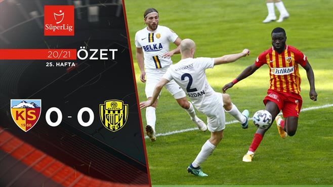ÖZET | HK Kayserispor 0-0 MKE Ankaragücü
